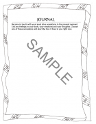 Journal prompt example