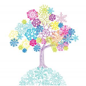 Winter tree illustration credit GraphicStock