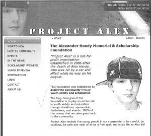 old project alex site