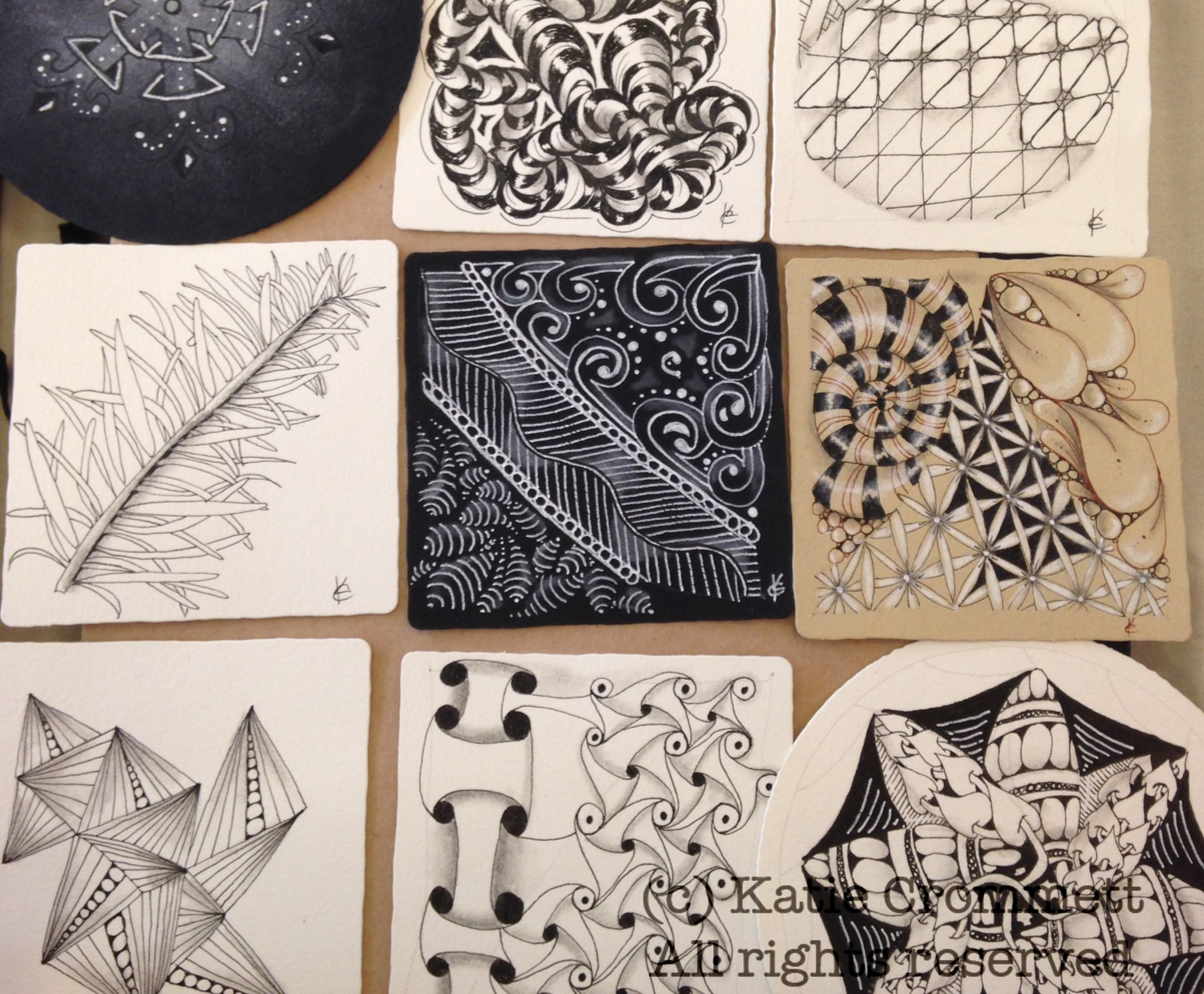 About Zentangle, offered by Katie