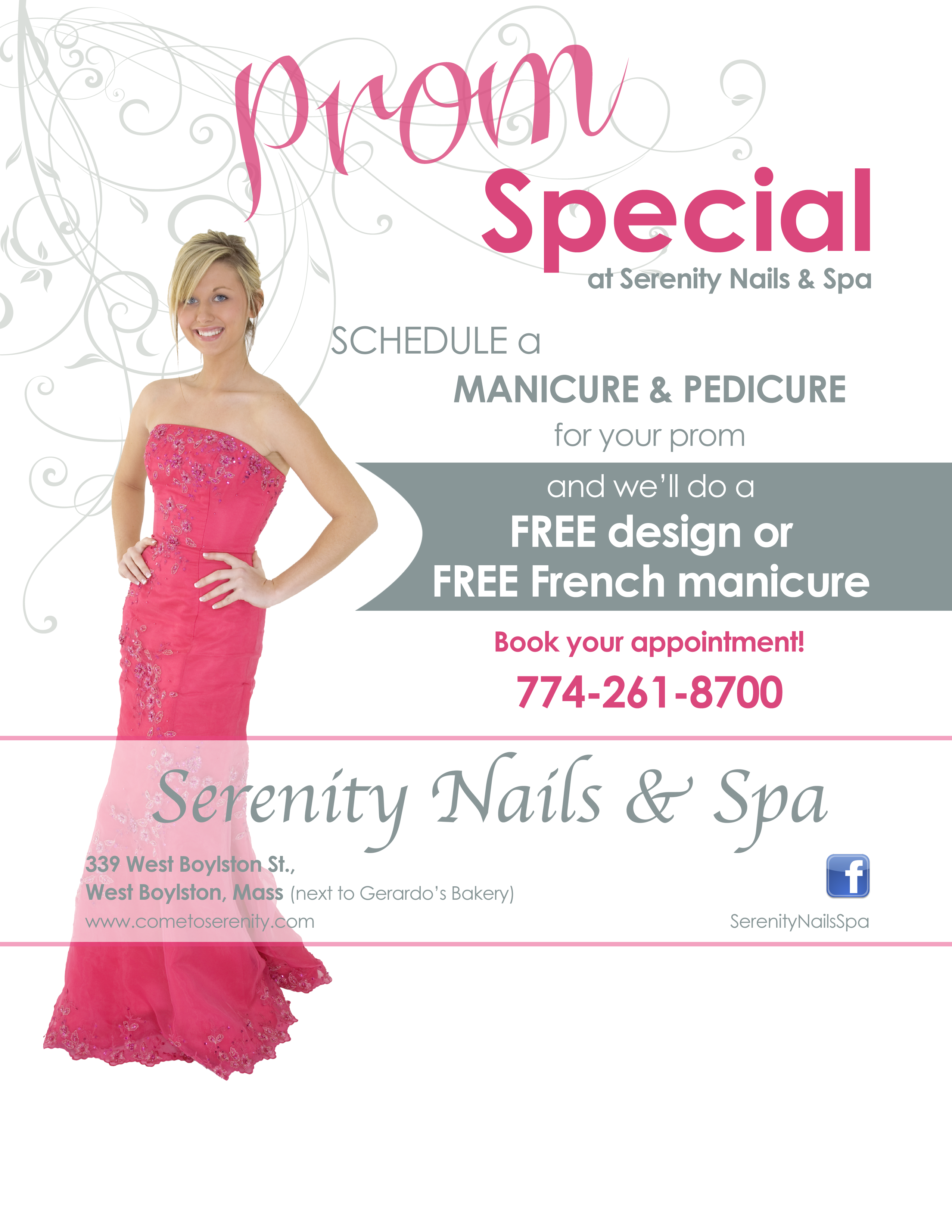 Prom promotional flyer